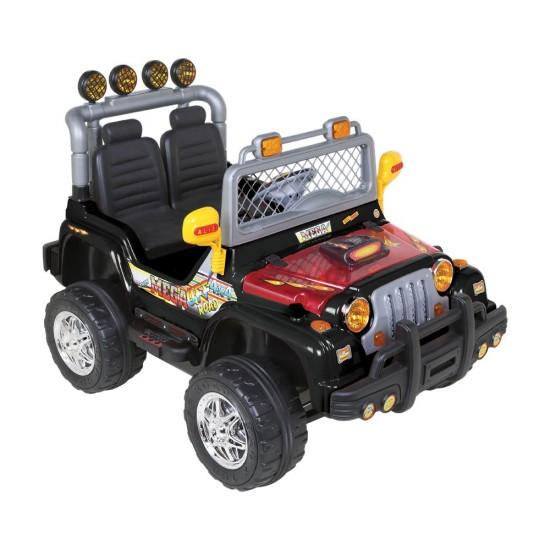 Aliş 504K Mega Çift Kişilik Uzaktan Kumandalı 12 Volt Akülü Jeep