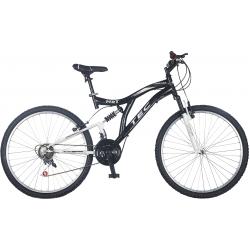 24 Jant Black Çift Amortisörlü Bisiklet